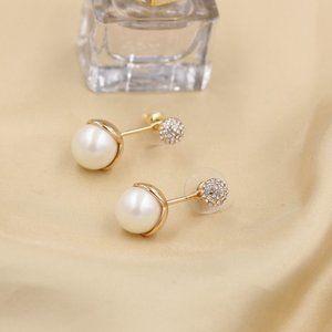Kate Spade Zircon Pearl Earrings